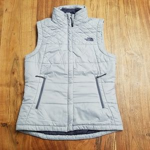 The North Face Women's Puffy Gray West Medium